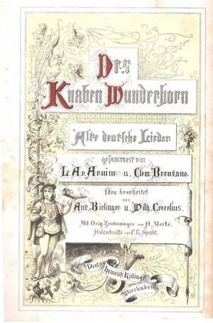 Wunderhorn_1874_titel