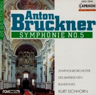ブルックナー 交響曲第5番 アイ...