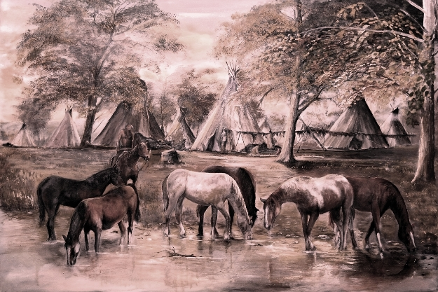 Indian_native_american_village